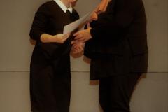 Вручение диплома участникам из Новоуральска