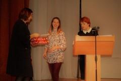 Вручение дипломов и подарков участникам из детских садов