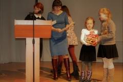 Вручение дипломов и подарков участникам из других городов